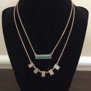 NEW NBW Malachie + Pave Convertible Necklace